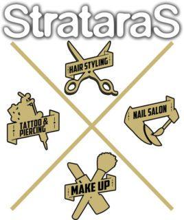 StrataraS Κομμώτήριο Tattoo Piercing Make UP